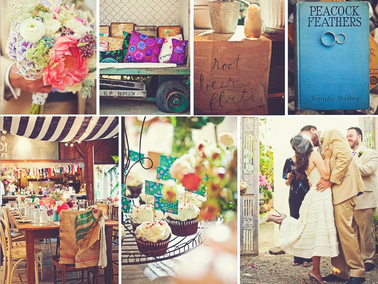 Colour palette & so rustic. In love <3