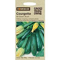 Courgette All Green Bush - Homebase