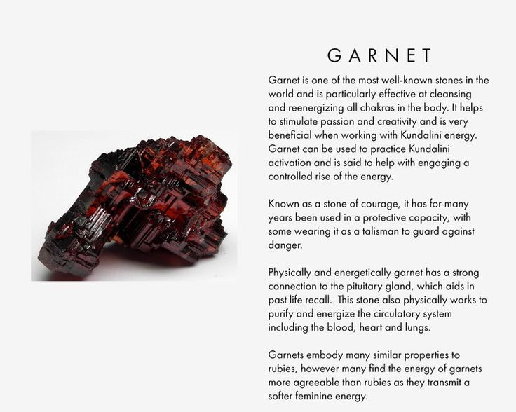 Garnet is one of the most well-known stones in the world and is particularly…