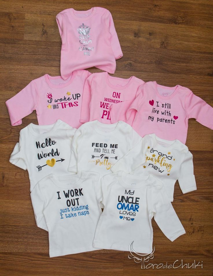 FREE SVG onesie babygrow sayings vinyl baby shower gift