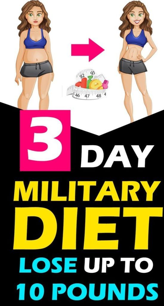 TRY THE MILITARY DIET MEAL PLAN AND LOSE UP TO 10 …