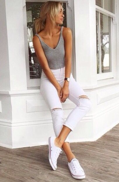 simple, casual outfit