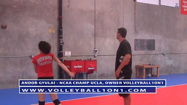 Coaching youth volleyball spiking technique good tip