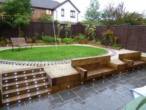 details about concrete garden paving slabs 4 size. Black Bedroom Furniture Sets. Home Design Ideas
