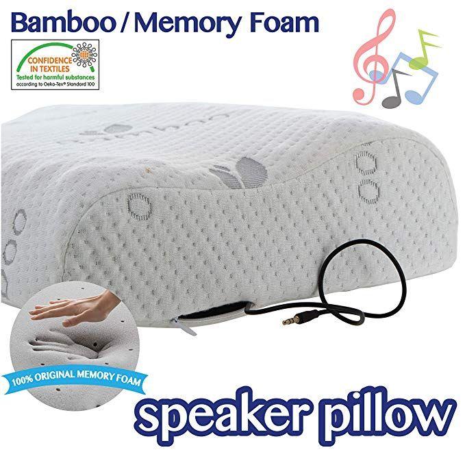 music pillows memory foam pillow