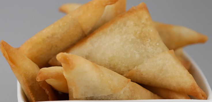 Spicy Vegetable Samosa (V) - WA Finger Food Catering Perth Catering to Perth and surrounding areas since 1996. CALL US NOW 1800 216 902!