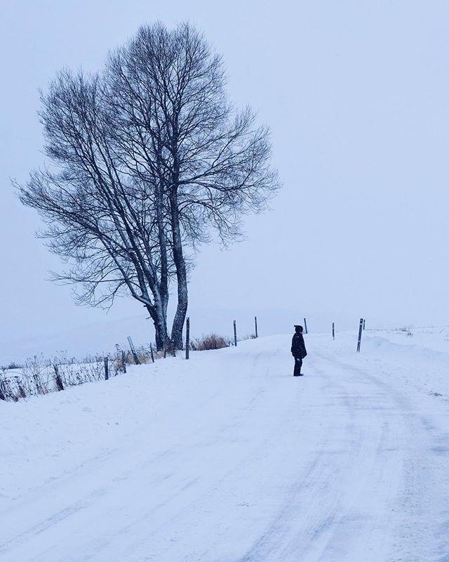 White roads... Com magrada lhivern!!!