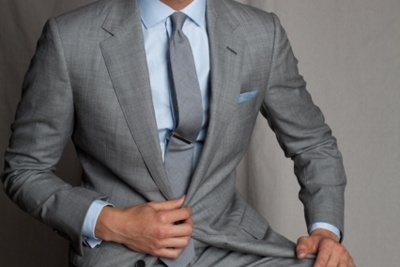 Pinterest the world s catalog of ideas for Grey shirt and tie combinations