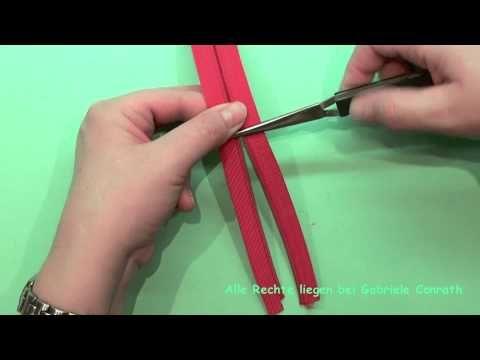 Anleitung: Wie kommt der Schieber auf den Endlosreißverschluss? - YouTube