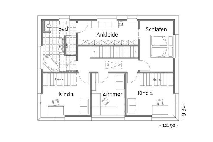 17 besten hausbeispiele von cal classic haus bilder auf pinterest grundrisse dachneigung und. Black Bedroom Furniture Sets. Home Design Ideas