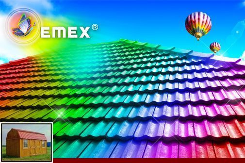Best Metal Roof Color For Sale And Metal Roof Colors Burnished 400 x 300