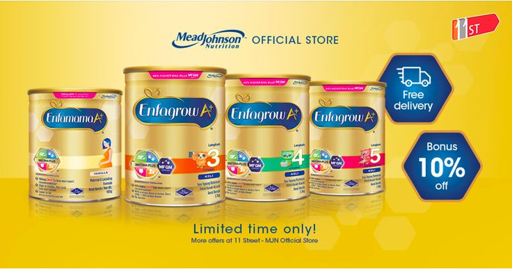Mead Johnson Nutrition Official Store | Shop online at 11street Malaysia - Variety of Mead Johnson Nutrition Official Store products - Shop & Buy EXCLUSIVE online offers with best prices and discounts. Limited time offer!
