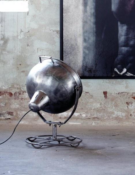 industrial lamp ♥