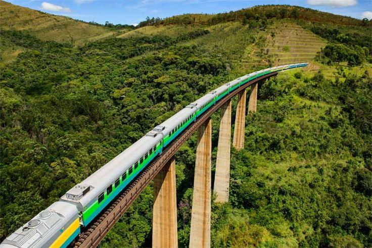 Trem Vitória Minas: Horários, passagens, itinerários. Veja!