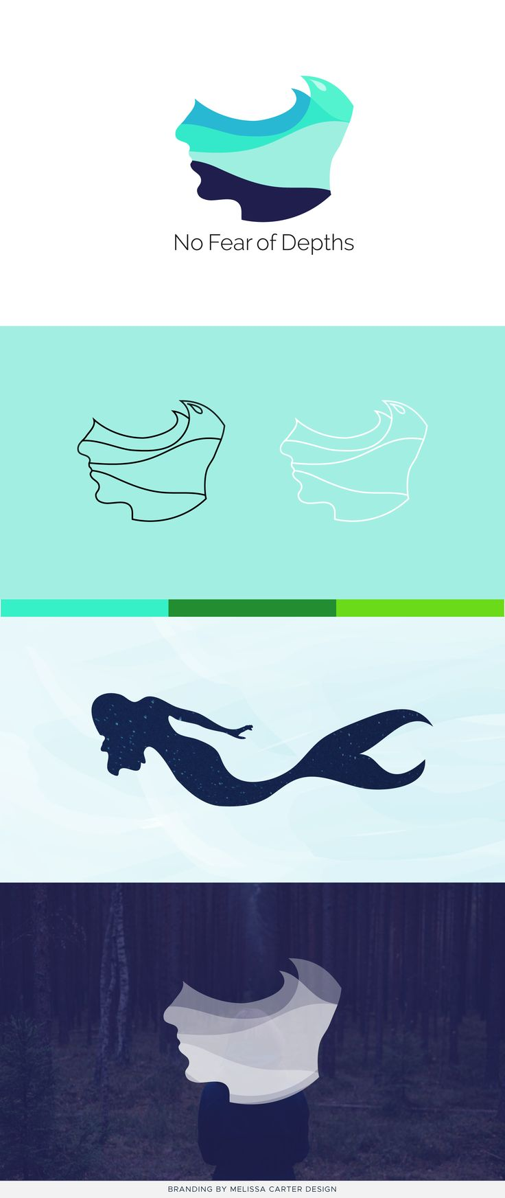 Branding project by Melissa Carter Design.