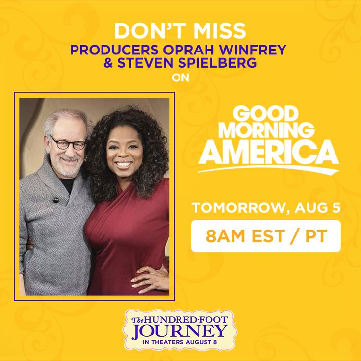 Good Morning America Tomorrow : Images about the hundred foot journey on pinterest