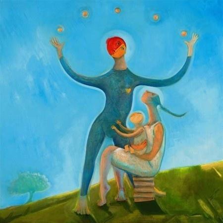 "Orlando Agudelo-Botero, ""Magic: La Familia - The Tree of Life"""