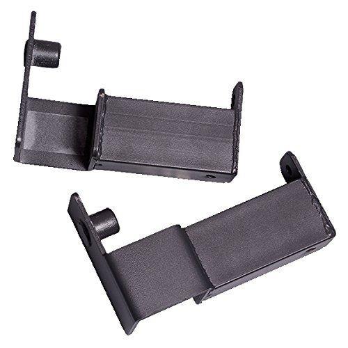 Body-Solid LO378 Lift Offs (BLACK). j hooks. lift offs. gpr378. body solid power rack j hooks. lo 378.
