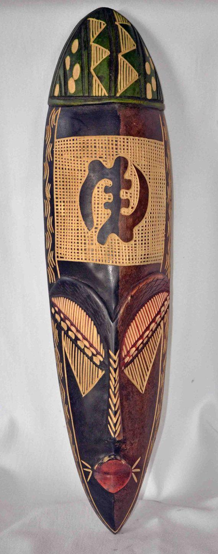 African Art Marka Mask African American Art by Boriquahafrikanah, $50.00