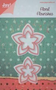 WYKROJNIK JOY CRAFTS 6002/0157 kwiatek 3D