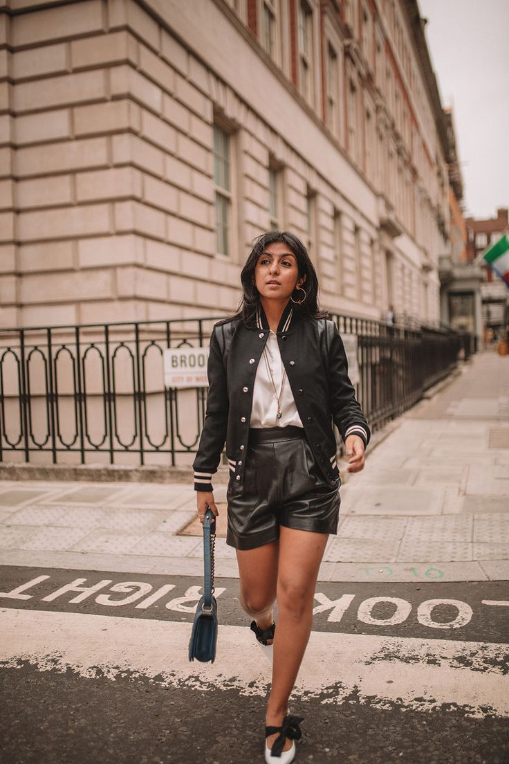 9c5e52dba78 Luxury fashion blogger Shloka Narang of The Silk Sneaker shares how to style  a trending piece for autumn winter 2018