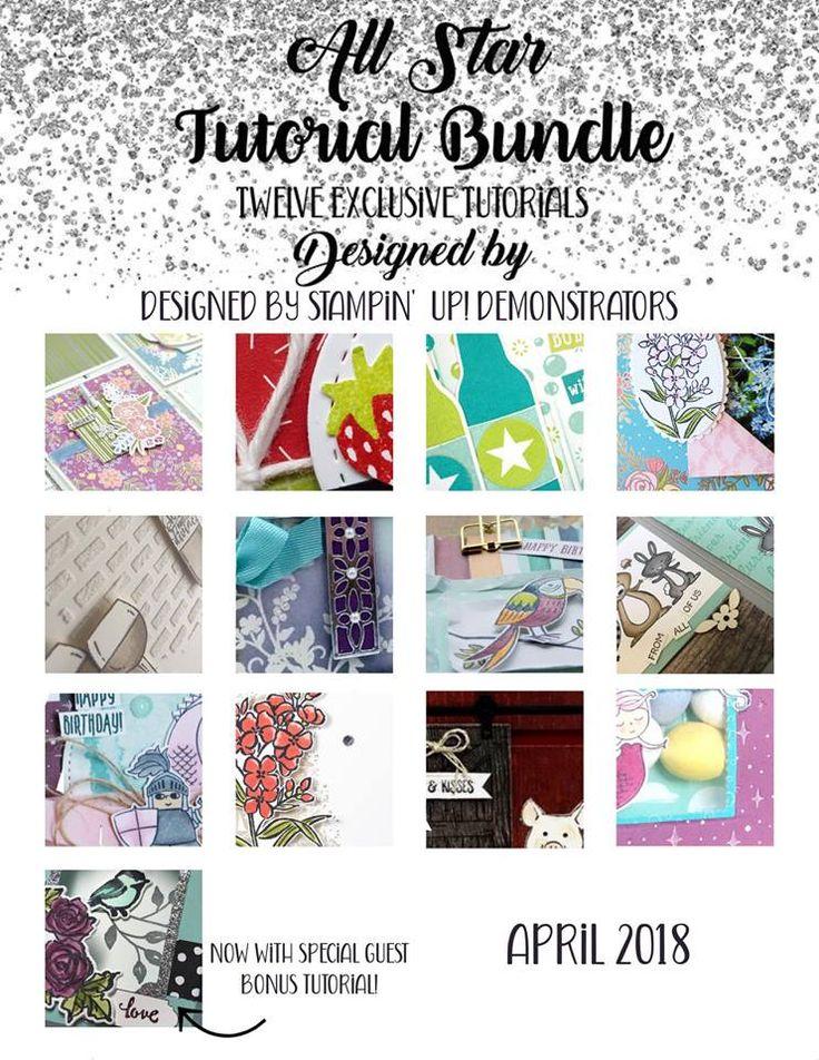 All Star Tutorial Bundle Blog Hop 12 tutorials from 12 women around the world Wendy Cranford www.luvinstampin.com