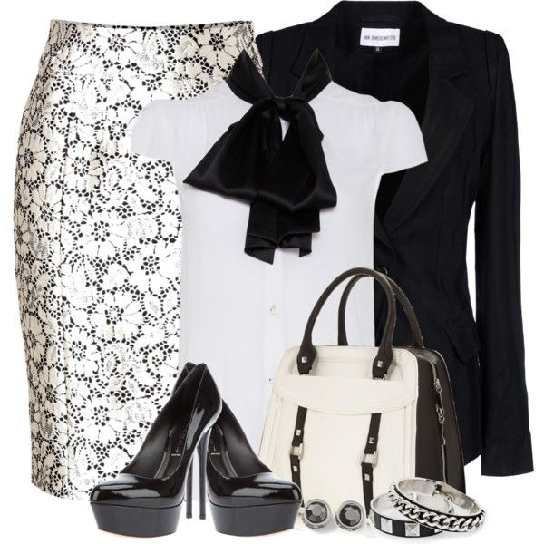 Work OutfitClassy Outfit, Skirts Outfit, Lace Pencil, Fashionista Trends, Pencil Skirts, Work Outfits, Burberry London, London Lace, Church Outfit
