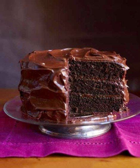 The frosting's flavor is more intensely chocolatey, thanks to a one-two combo of cocoa powder and semisweet chocolate :) Serves: ...