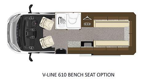 V-Line 610-SPORT Floorplan