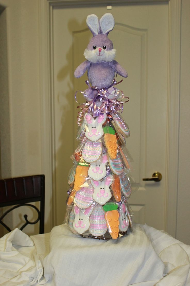Easter Cookie Tree 2012 on Cake Central