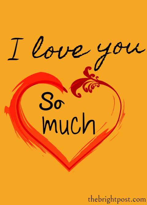 I Love You So Much Whatsapp Status I Love You So Much Status I