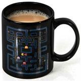 Pacman mug - coffee mug - humorous coffee mug, heat changing mug, novelty coffee mug