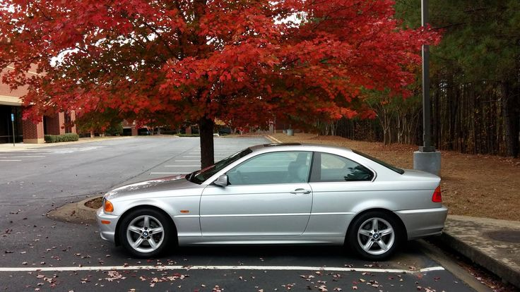 Fall pic of my E46 Coupe - If you don't always look back when parking you bought the wrong car! #BMW #cars #M3 #car #M4 #auto