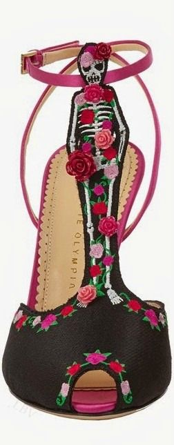 Charlotte Olympia Resort 2015 …….THERE'S A SHOE EMPORIUM NEXT TO PLOT 32 WHERE THEY HAD THESE ON SALE……THEY WENT LIKE -- HOT CAKES --……….ccp