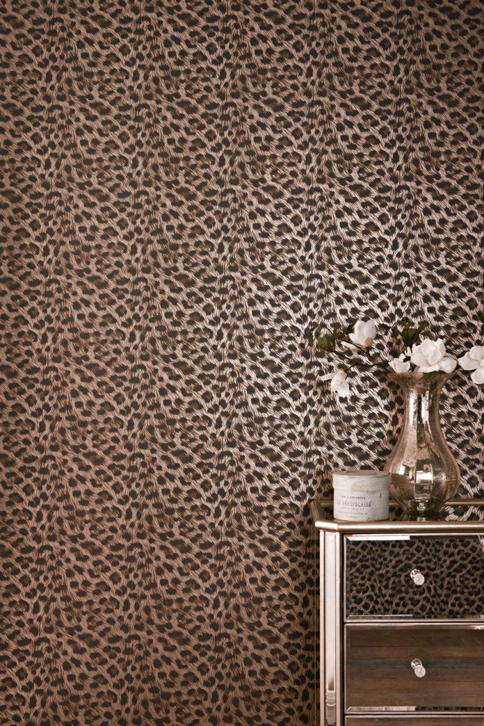Leopard Print Wallpaper for Bedroom - Photos Of Bedrooms Interior Design Check more at http://jeramylindley.com/leopard-print-wallpaper-for-bedroom/