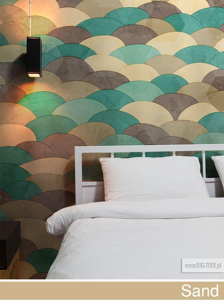 PANTONE 2014: Sand & turquoise wallpaper by Big-trix.pl | #pantone #pantone2014 #sand #wallpaper