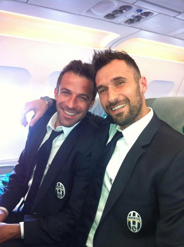 Del Piero and Vucinic