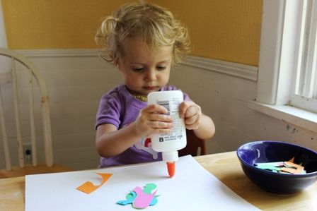 Arts and Crafts for Toddlers: Simple is Okay
