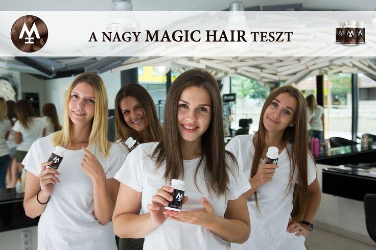 ♡ A Nagy MAGIC HAIR Teszt! ♡ Hosszú és egészséges haj 3 hónap alatt!