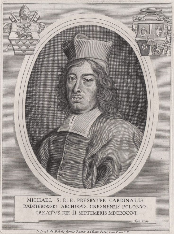 Primate Michał Stefan Radziejowski by Giovanni Giacomo de Rossi and Tybo, 1686 (PD-art/old), Österreichische Nationalbibliothek