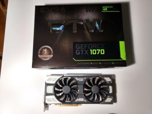 EVGA GeForce GTX 1070 FTW Gaming ACX 3 0 8GB GDDR5 Graphics Card