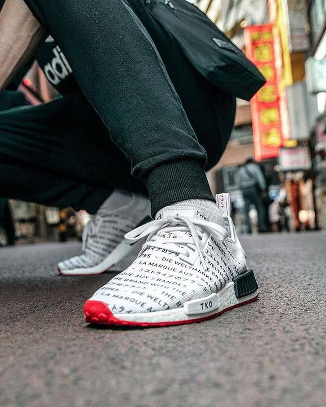 The Brand New Adidas Nmd R1 Tokyo Dropped Today Who Copped Check The Link In Our Bio For More Information Adidas Adi Foot Locker Sneakers Adidas Nmd
