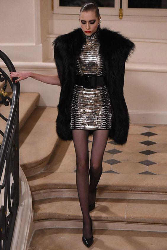 Saint Laurent by Hedi Slimane  Fashion Show & more luxury details