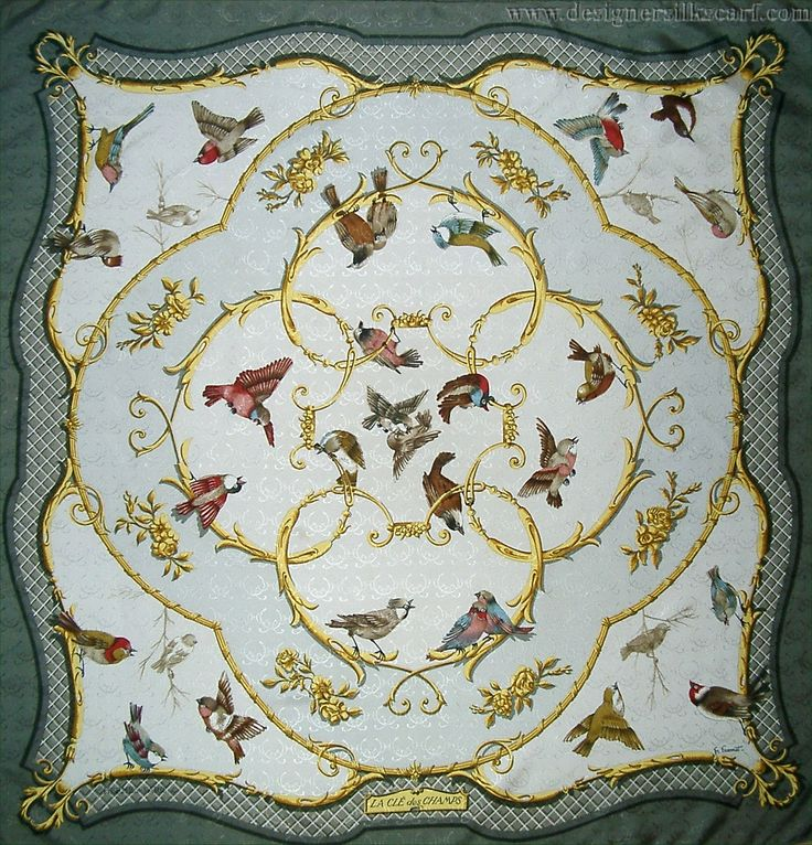 "La Cle des Champs (from <a href=""http://piwigo.hermesscarf.com/picture?/2952/category/Home"">HSCI Hermes Scarf Photo Catalogue</a>)"
