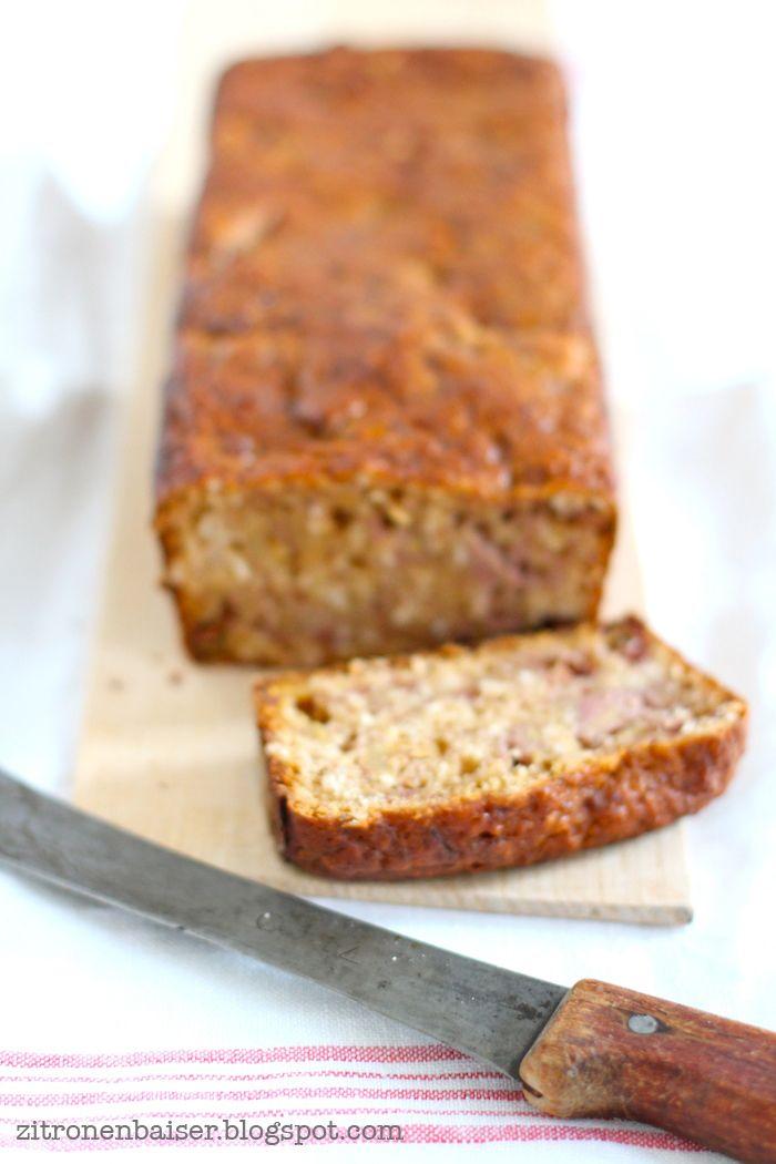 Rezept für ein leckeres Bananenbrot - vegan, zuckerfrei, fettarm. The Waitress Foodblog.