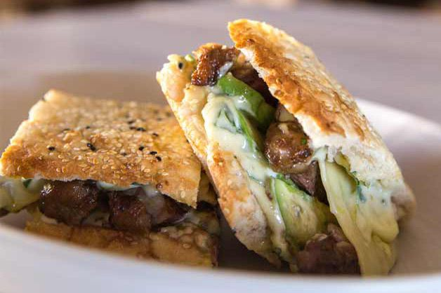 Grilled Steak Sandwich on Turkish Bread with Chimichurri Mayonnaise is one of the best recipes from Goodman Fielder's menu. Chimichurri is an uncooked sauce used for grilled meat. You can also use Cornwells Apple Cider Vinegar it can be used as a substitute for rice vinegar. To know more please visit our website: https://www.gffoodservice.com.au/idea/grilled-steak-sandwich-turkish-bread-chimichurri-mayonnaise/