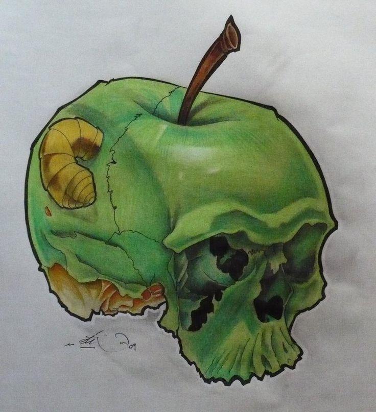 dead apple by Rycko-Tattoo-Factory on DeviantArt