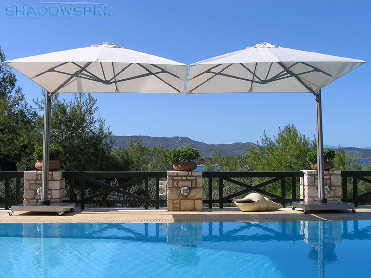 SHADOWSPEC - Global Suppliers of Luxury Outdoor Umbrella Systems. Manufactured from premium grade, non-corrosive materials, and marine-grade fabrics our SU6 shade umbrellas are not only stylish, they're the only outdoor patio umbrellas you will ever need to own. Click below for more information: www.shadowspec.com (USA) www.shadowspec.com.au (Australia) www.shadowspec.co.nz (NZ/Other)