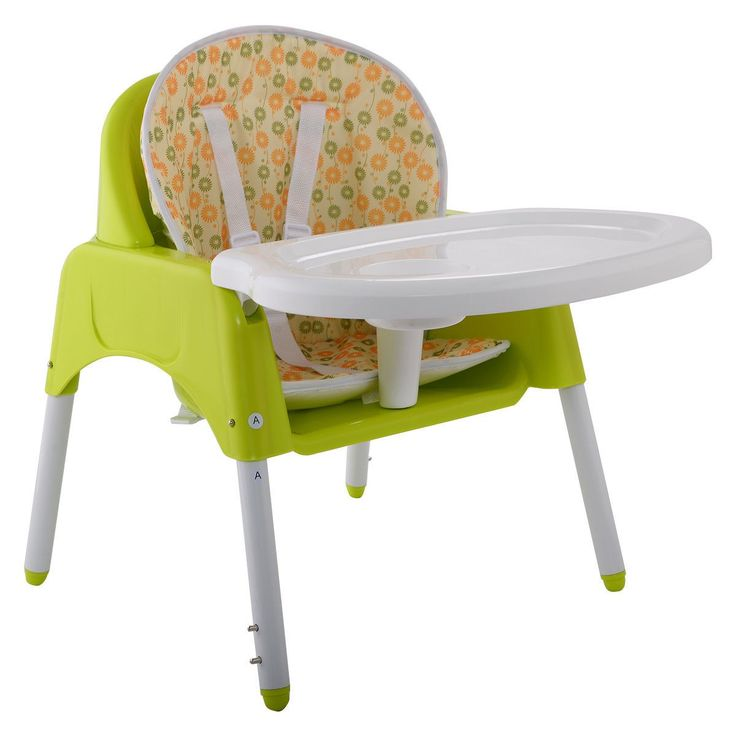 Superb 3 In 1 Baby High Chair Convertible Table Seat Booster Toddler Feeding  Highchair   Furniture