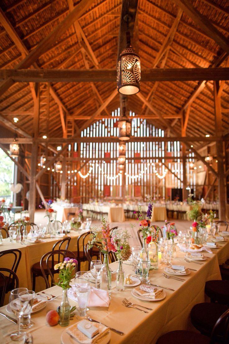 Riverside On The Potomace Barn Wedding Interior